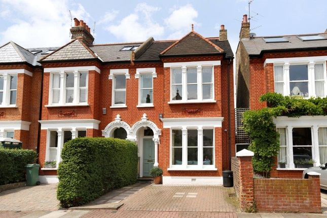 Thumbnail End terrace house for sale in Hendham Road, London