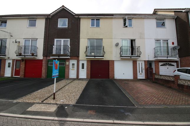 Thumbnail Town house to rent in Biscombe Gardens, Saltash