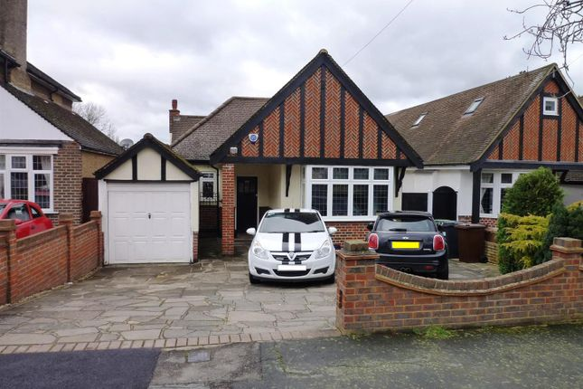 Thumbnail Detached bungalow for sale in Chestnut Avenue, Ewell, Epsom