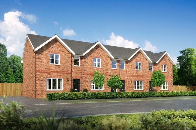 "Thumbnail 3 bedroom terraced house for sale in ""Argyll"" at Moorfields, Willaston, Nantwich"