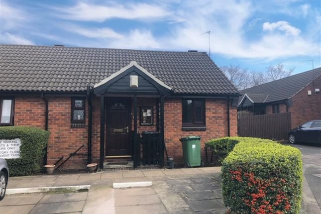 Thumbnail Semi-detached bungalow for sale in Rectory Close, Tranmere, Birkenhead