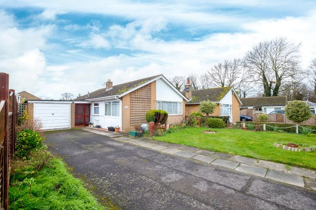 Thumbnail Detached bungalow for sale in Hale Close, Melbourn, Royston