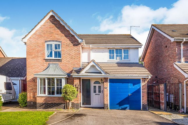 Thumbnail Detached house for sale in Doctors Meadow, Ruyton Xi Towns, Shrewsbury, Shropshire