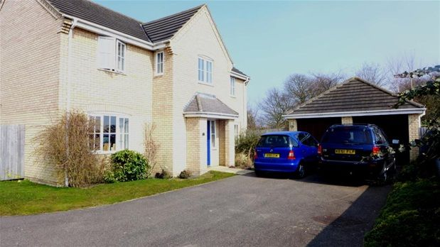 Thumbnail Detached house to rent in Boyden Court, Fordham, Ely