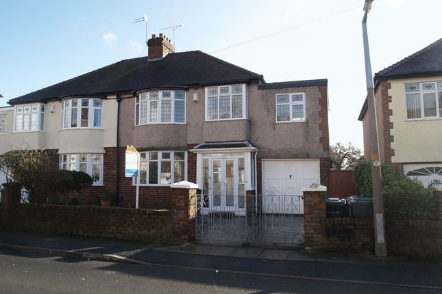 Thumbnail Semi-detached house for sale in Avondale Avenue, Maghull, Liverpool