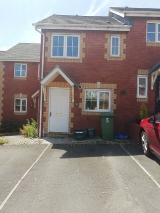 Thumbnail Terraced house to rent in Cwrt Edward, Barry