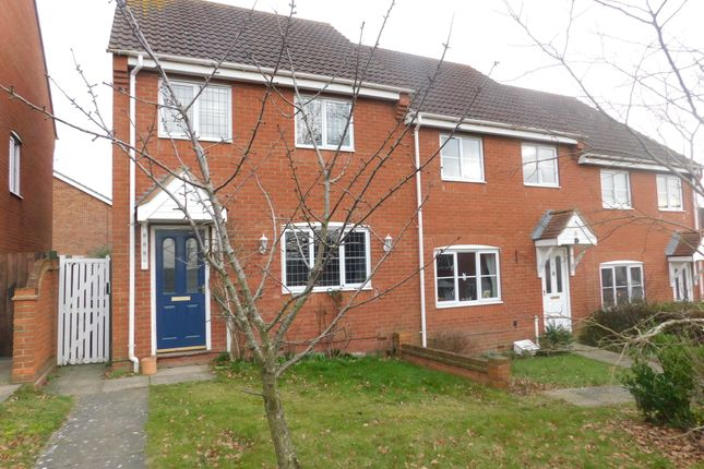 3 bed end terrace house for sale in Swan Close, Stowmarket