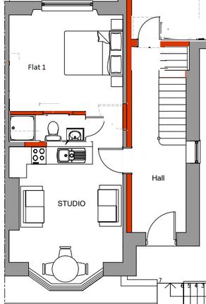 Thumbnail Flat to rent in Pentonville, Newport