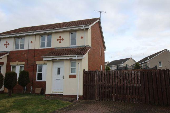Thumbnail Semi-detached house for sale in Kirkhill Court, Gorebridge