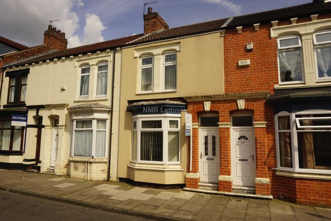 Thumbnail Terraced house to rent in Abingdon Road, Middlesbrough