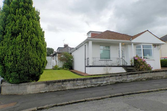 Thumbnail Bungalow for sale in Thornlea Drive, Giffnock, Glasgow
