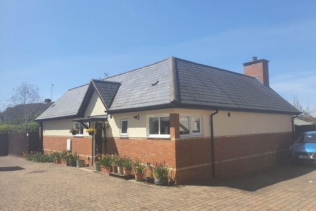 Thumbnail Detached bungalow for sale in Tankard Close, Newport Pagnell