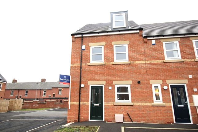 Thumbnail Terraced house to rent in Horsley Close, Craghead, Stanley