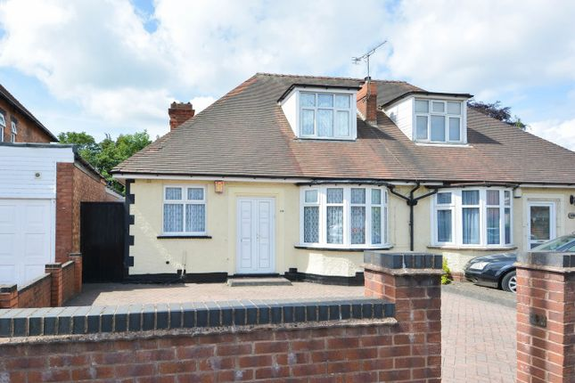 Thumbnail Semi-detached bungalow for sale in Portland Road, Edgbaston