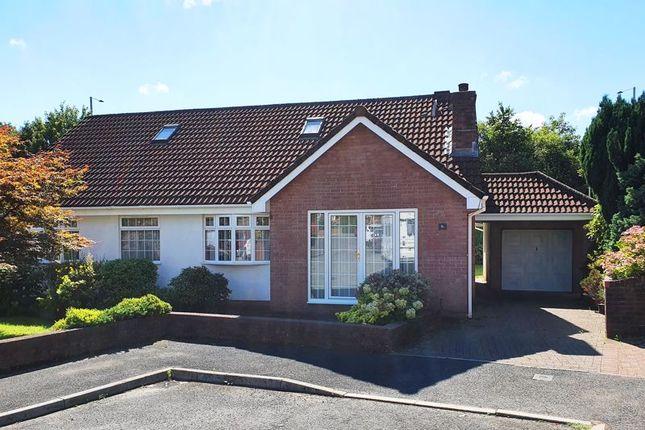 Thumbnail Detached bungalow for sale in Llys Derwen, Llantrisant