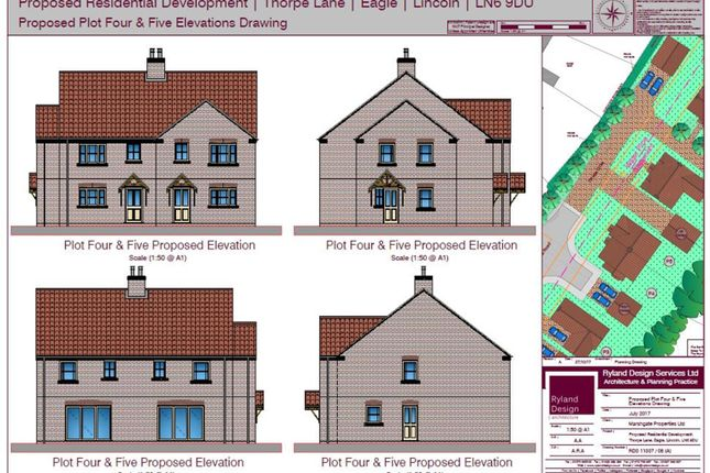 Thumbnail Semi-detached house for sale in Thorpe Lane, Eagle, Lincoln