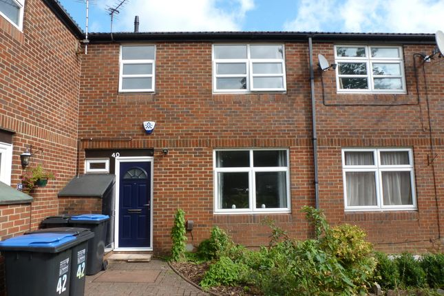Thumbnail Terraced house to rent in Guessens Road, Welwyn Garden City