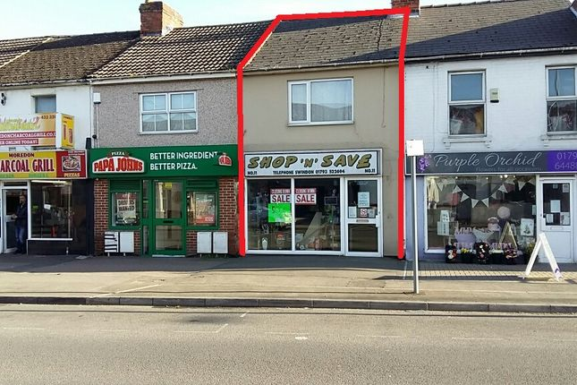 Thumbnail Retail premises for sale in Moredon Road, Swindon