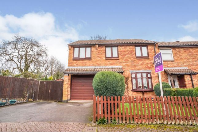 Thumbnail Semi-detached house for sale in Westfields, Barlestone