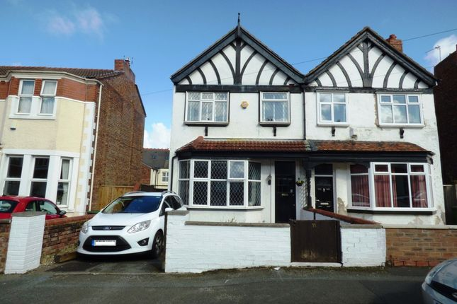 Thumbnail Semi-detached house for sale in Cecil Road, Birkenhead