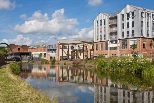 Thumbnail Flat to rent in Boiler House, Electric Wharf, Coventry, West Midlands