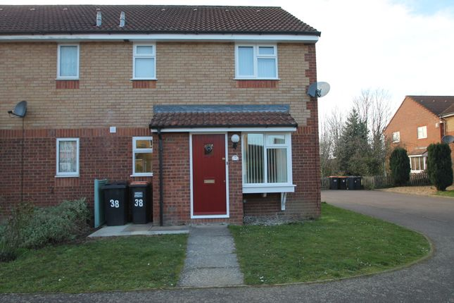 End terrace house to rent in Heather Gardens, Bedford