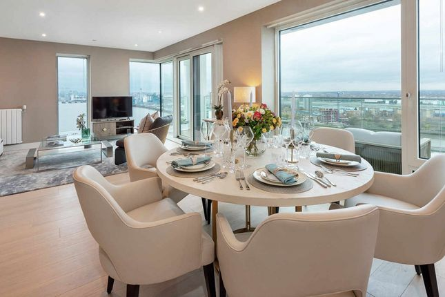 Thumbnail Flat for sale in Waterfront III, Royal Arsenal Riverside Woolwich
