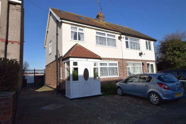 Thumbnail Semi-detached house for sale in Sylvan Avenue, Chadwell Heath, Romford