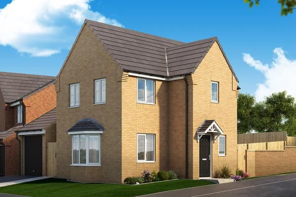 "Thumbnail Property for sale in ""The Mulberry At Woodland Mews"" at Manor Way, Peterlee"