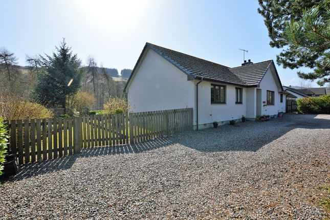 Thumbnail Bungalow for sale in Haycroft, Lewiston, Drumnadrochit, Inverness, Highland.