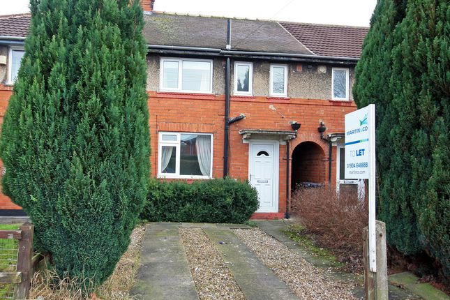 Thumbnail Terraced house to rent in Spalding Avenue, York