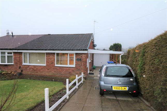 Thumbnail Semi-detached bungalow for sale in Greenmoor Avenue, Fegg Hayes, Stoke-On-Trent