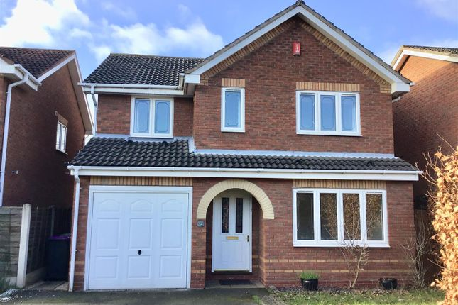 Thumbnail Detached house for sale in Gainsborough Way, Telford