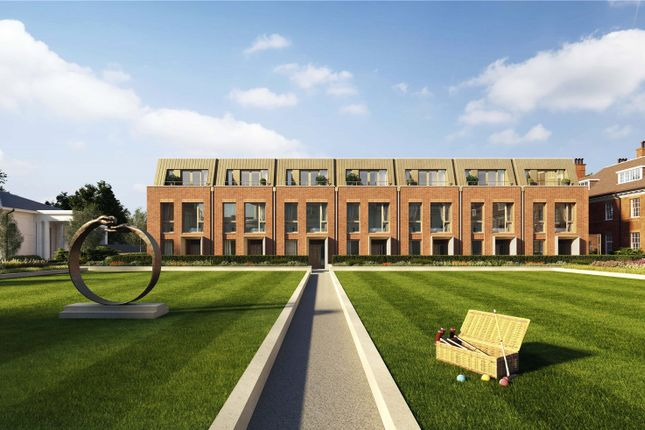 Thumbnail End terrace house for sale in Hampstead Manor, Kidderpore Avenue, Hampstead, London
