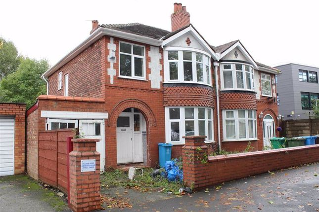 Thumbnail Semi-detached house for sale in Lytham Road, Manchester
