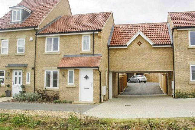 Thumbnail Terraced house to rent in Olivier Row, Oxley Park, Milton Keynes