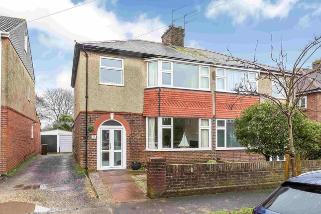 Thumbnail Semi-detached house for sale in Lealand Road, Drayton, Portsmouth
