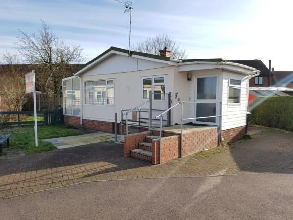 Thumbnail Mobile/park home for sale in Three Star Park, Bedford Road, Lower Stondon, Henlow