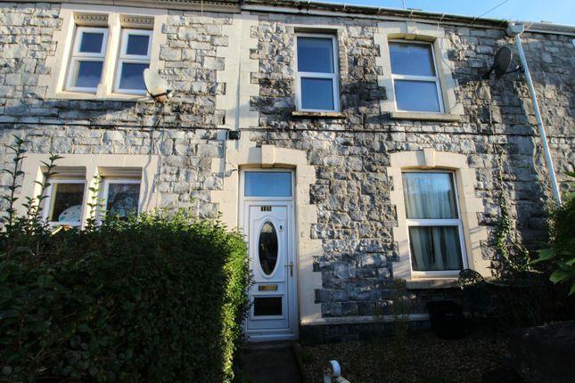 3 bed terraced house for sale in Cowbridge Road, Bridgend, Mid Glamorgan