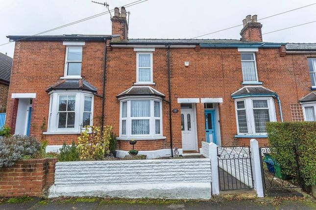 Thumbnail Terraced house for sale in Treadwell Road, Epsom