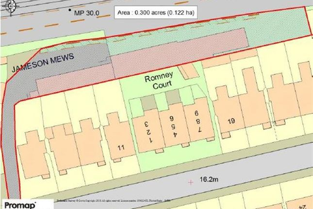 Thumbnail Land for sale in Jameson Road, Bexhill-On-Sea