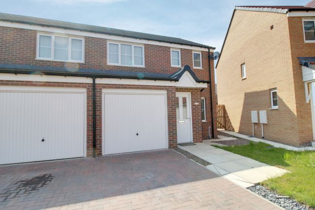 Thumbnail Semi-detached house for sale in Cornwall Way, Blyth, Northumberland