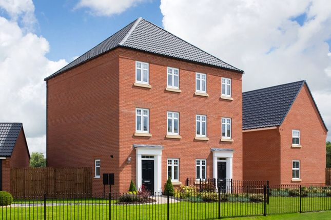 "Thumbnail Semi-detached house for sale in ""Cannington"" at Sandbeck Lane, Wetherby"