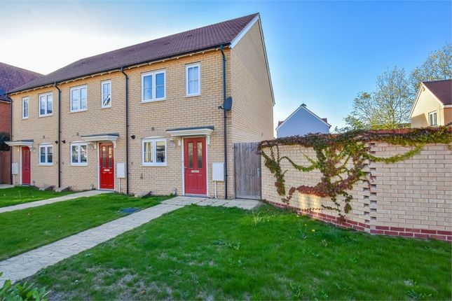 Thumbnail End terrace house for sale in Foundation Way, Colchester, Essex