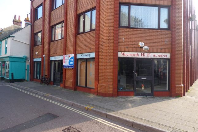 Thumbnail Retail premises to let in 33 - 35 Maiden Street, Weymouth
