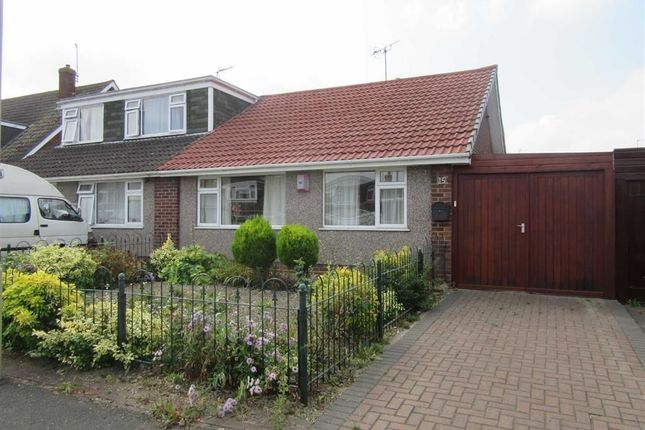 Thumbnail Semi-detached bungalow to rent in Warwick Avenue, Tuffley, Gloucester