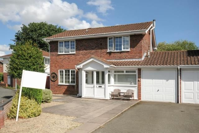 Thumbnail Detached house for sale in Bobblestock, Hereford