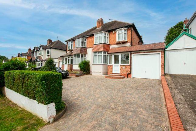 3 bed semi-detached house for sale in Shenley Fields Road, Northfield, Birmingham B29