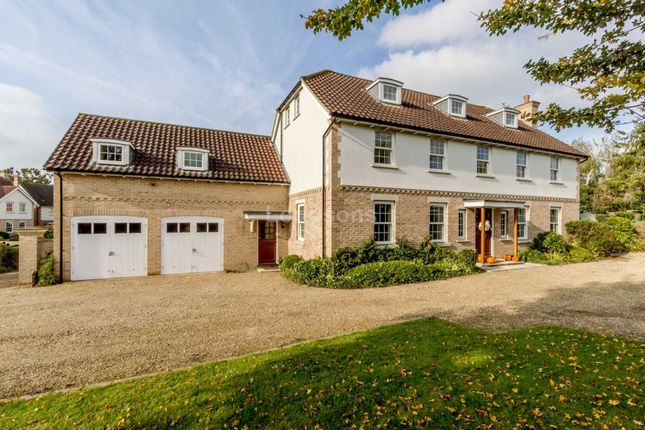 Thumbnail Detached house to rent in Thedwastre Road, Thurston, Bury St. Edmunds
