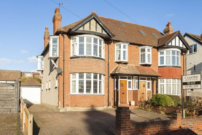Thumbnail Semi-detached house to rent in Buxton Drive, New Malden